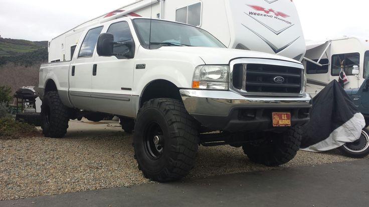 2000 F250 7.3 4 Inch Lift 325/85R16 Michelin XML | Trucks ...