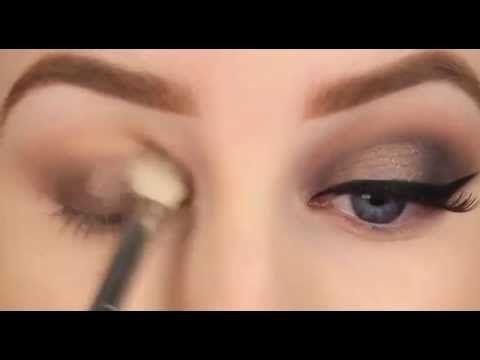 Bakır Tonlarında Dumanlı Göz Makyajı