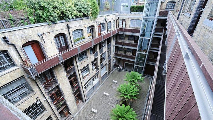 Manhattan Loft Corporation's iconic London warehouse conversion The Factory, Nile Street   Inspirational Design   Reclaimed   Conversion   Original   Loft Living   Warehouse Home Design Magazine