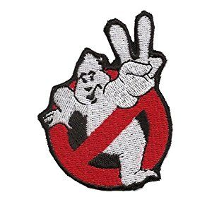 ghostbusters 2 patches | Ghostbusters Noghost Ghost Busters Uniform costume Iron on Patch Badge ...