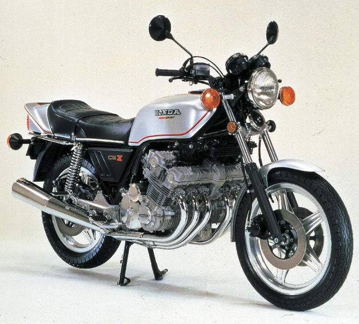 Honda CBX1000 DOHC 6cyliner/5SP - had a brand new one in 1981 - cost £2450!