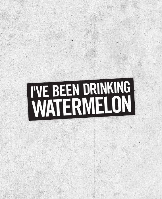Beyonce Drunk In Love Lyrics Watermelon