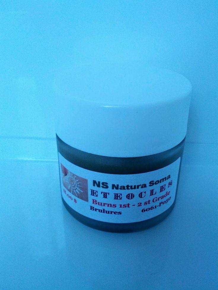 Natura soma: Cream Eteocles for Sunburns