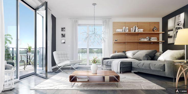 144 best logement neuf nos int rieurs images on pinterest. Black Bedroom Furniture Sets. Home Design Ideas