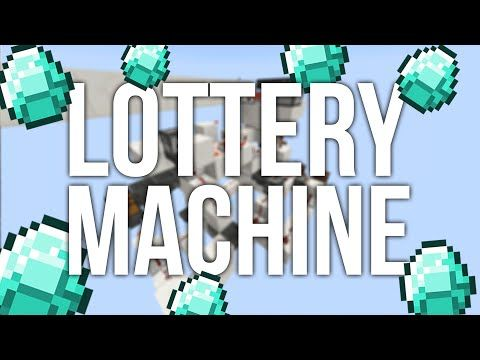 Minecraft How To Build A Redstone Lottery