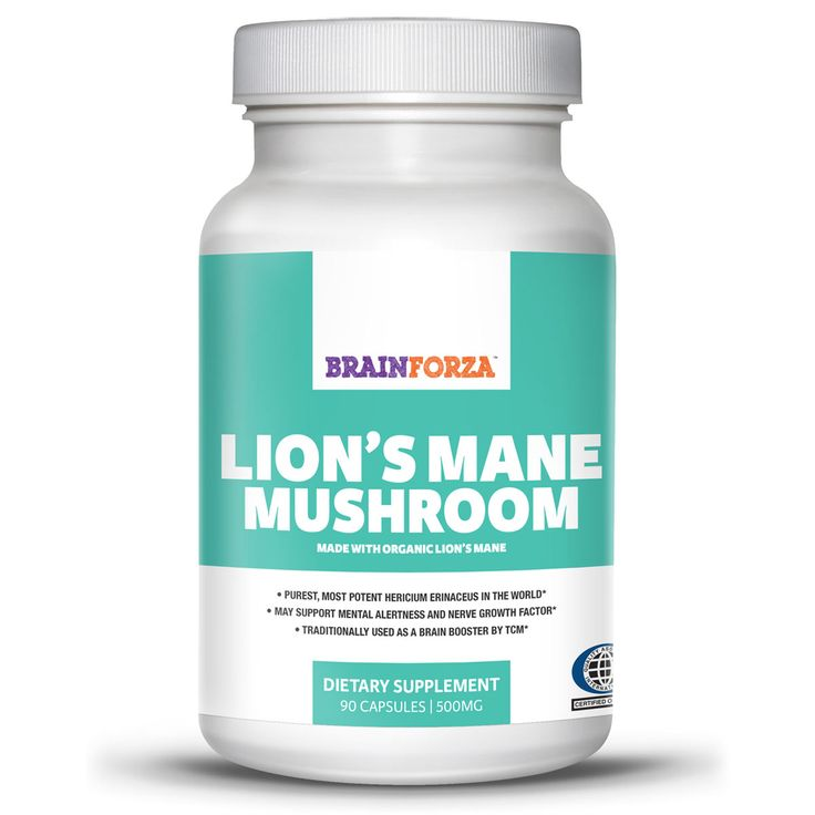 Amazon.com: Genius Mushroom – Lions Mane, Cordyceps and