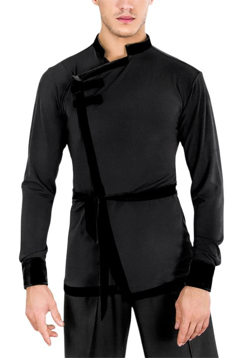 DSI Denys Mens Latin Shirt 4021 | Dancesport Fashion @ DanceShopper.com