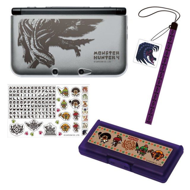 Monster Hunter 4 Accessory Set for 3DS LL - Available through Play-Asia for your importing pleasure.