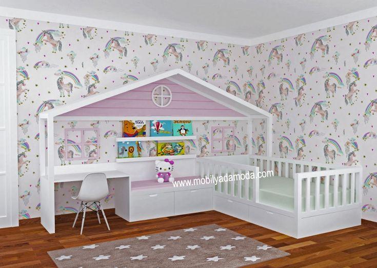 Montessori Baby & Kinderzimmer in 2020 Modern kids bedroom