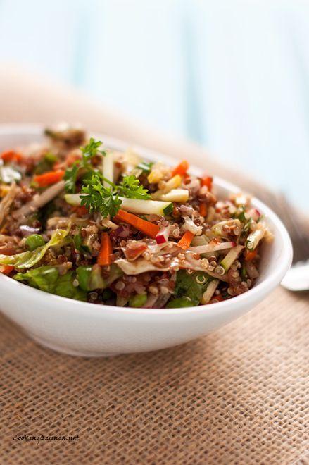 Easy Vegetable Quinoa Salad | Recipe