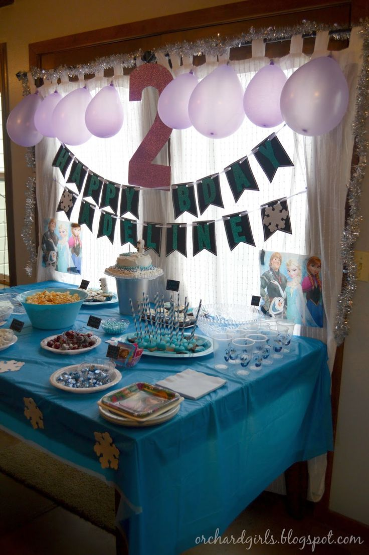 Design Frozen Decorations best 25 frozen decorations ideas on pinterest party birthday freebies ideasinspiration like the simple tablecloth decoration idea with snowflakes taped to blue plastic t