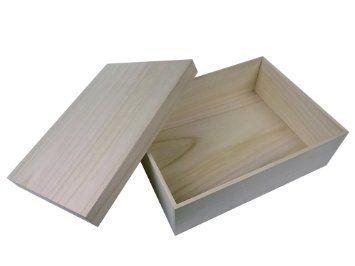 Amazon | 桐箱 贈答品用総桐箱 LLサイズ (A4ファイルや半紙もラクラク収納、和製用品の収納に最適) | ギフトボックス