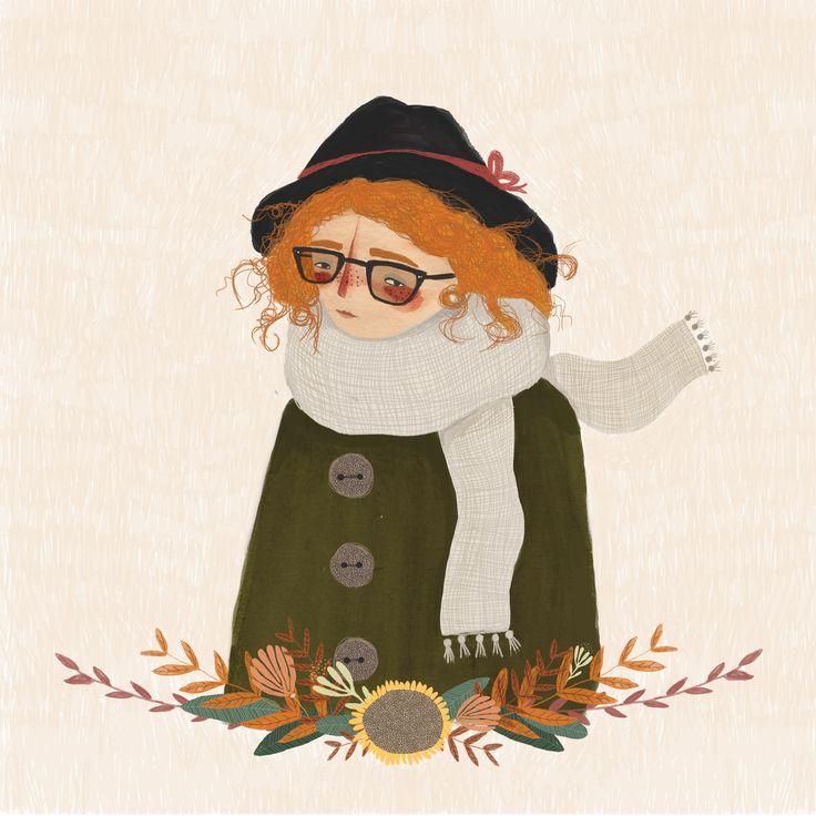 Clementine - chloejoyceillustration.com  Chloe Joyce Illustration