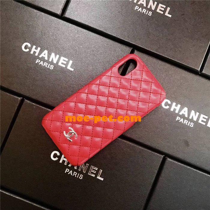 CHANEL iphonexケース 革製