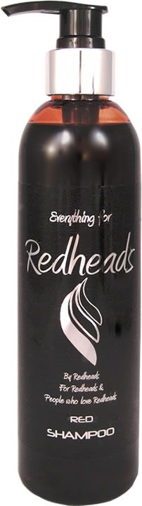 This luxurious every-day shampoo for Red Hair contains acolourantto enhance natural and dyed red hair by depositing colour gradually for a natural looking enhanced colour. Ideal for natural and dyed red hair that needs to be revived with an extra boost of red colour. The colour of this shampoo is a deep rich red and brings out the red tones in your hair rather than copper. For a clear idea of what it looks like,view the video below.