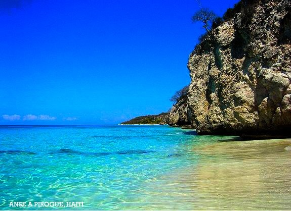 Anse-a-Pirogue. Located in Artibonite, Haiti.    Photo by: Haiti Tourism Inc.