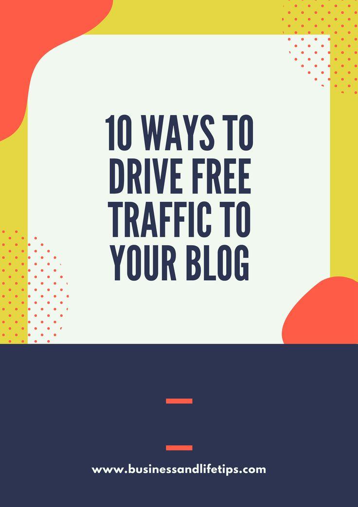 10 Ways to drive free traffic