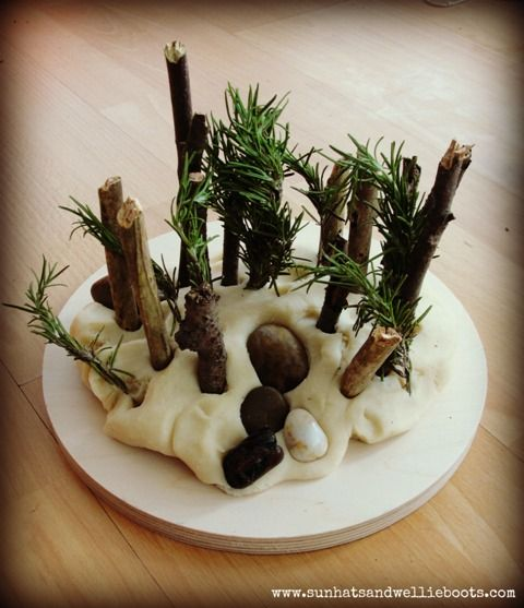 "Natural Nature Play Dough ("",)"