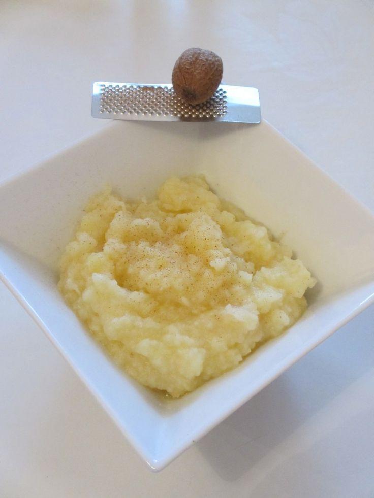Purée de céleri et pommes de terre