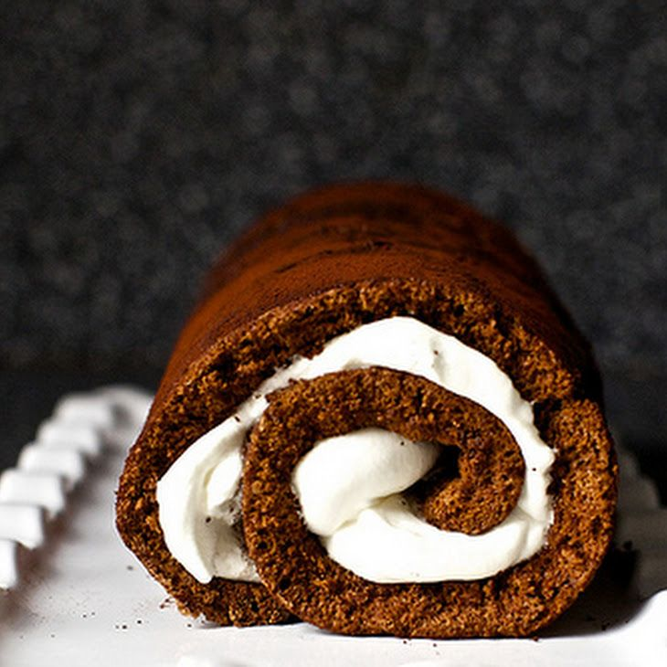 Heavenly Chocolate Cake Roll Recipe - first tasted at Marna's bible ...