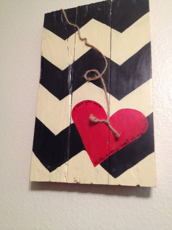 Reclaimed Pallet Sign by JuicyBooStudio on Etsy, $30.00