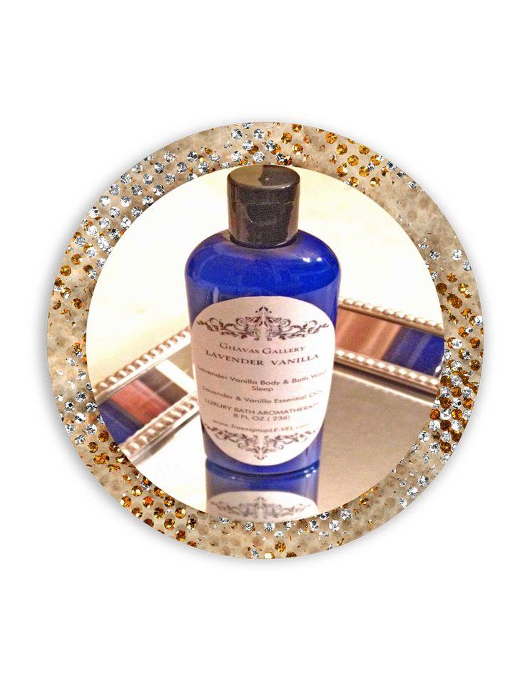 Lavender Vanilla Body Lotion 100% All Natural  8 oz $10.00