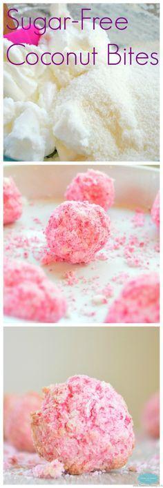 sugar free coconut bites snowball cookies