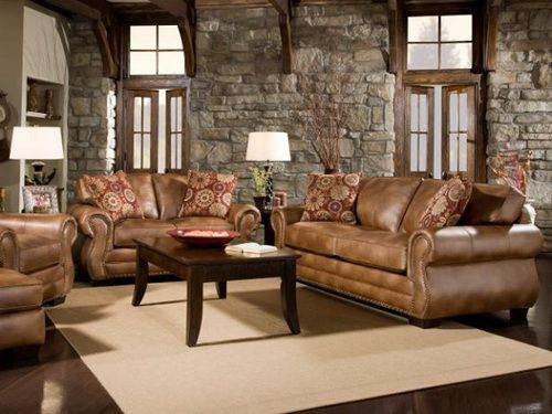 Distressed Leather Sofa Sets