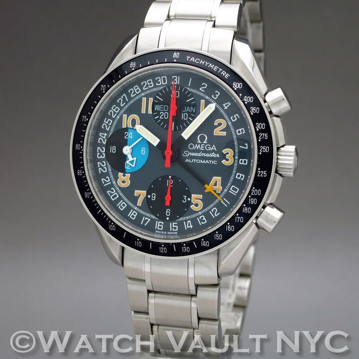 Omega Speedmaster Day Date Mark 40 3520.53 39mm Auto