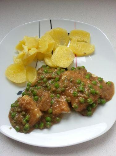 Pescado con salsa de gambas para #Mycook http://www.mycook.es/receta/pescado-con-salsa-de-gambas/