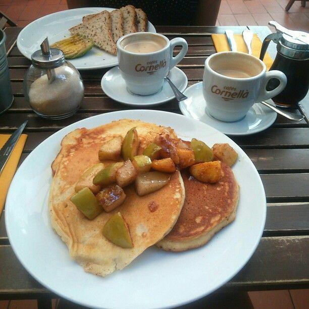 Pancakes mama's, Barcelona