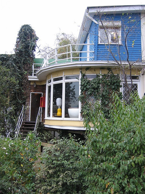 La Chascona. My favorite of Pablo Neruda's houses.