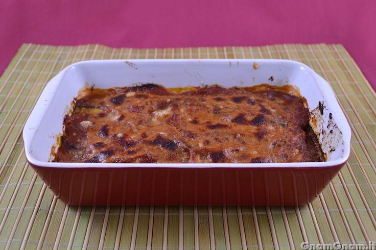 Parmigiana di zucchine light - Gnam Gnam