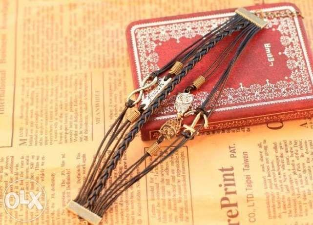 Стильный браслет ( Совушки, якорь, бесконечность, faith) Днепропетровск - изображение 2