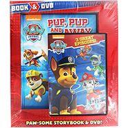 Paw Patrol - Book and DVD Set £7