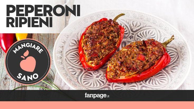 Oggi la nostra Elisabetta ci mostrerà come preparare dei deliziosi Peperoni Ripieni, in una versione vegetariana, sana e gustosa. Un piatto…