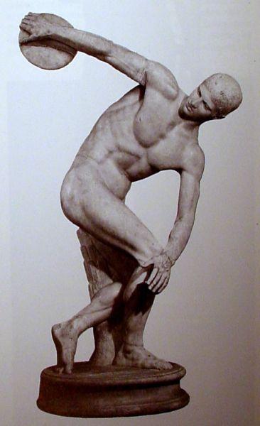 klassieke griekse beeldhouwkunst discuswerper - Google zoeken