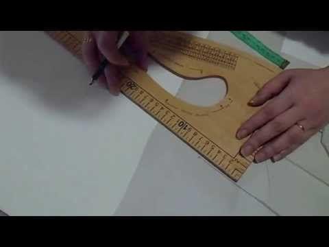 Como trazar y cortar blazer (Peticion) - YouTube