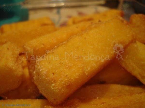 Receita de Polenta frita crocante