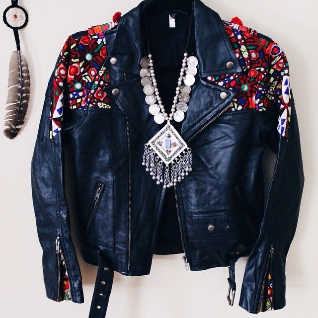 Gypsy Queen leather jacket by Spell Designs