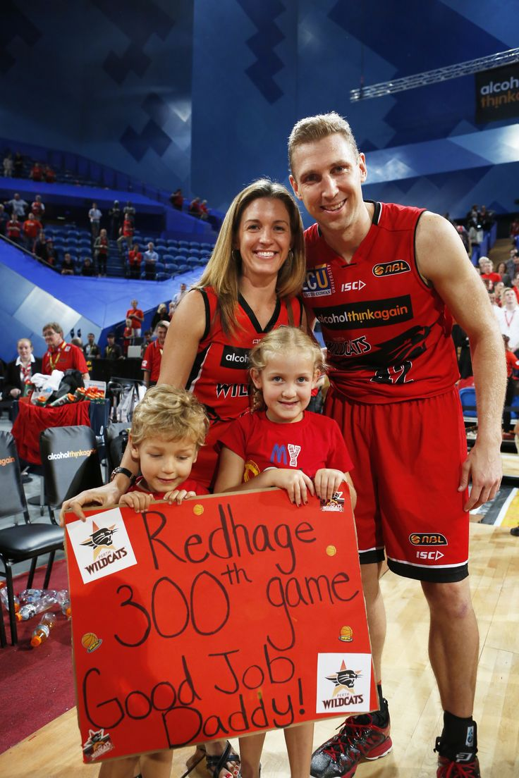 In 2014/15 Shawn Redhage became the sixth Wildcat to reach 300 games for the club. At the conclusion of the season, he sits in fourth position on the Wildcats all-time games-played list. Photo: Theron Kirkman/Perth Wildcats