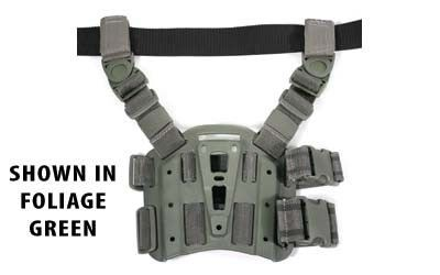 BlackHawk Tactical Drop-Leg SERPA Holster Platform, Olive Drab Green