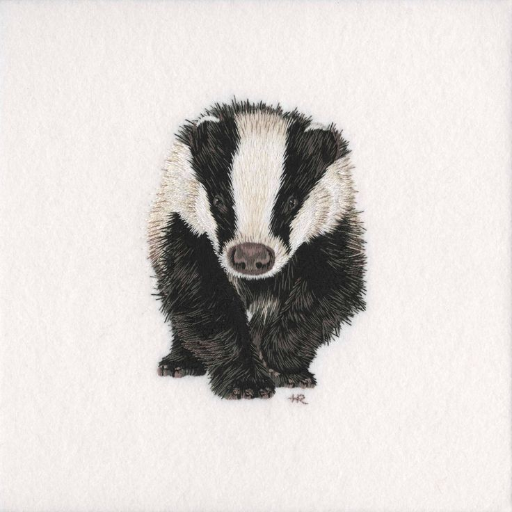 Badger Original Hand Embroidery – The Bluebird Embroidery Company