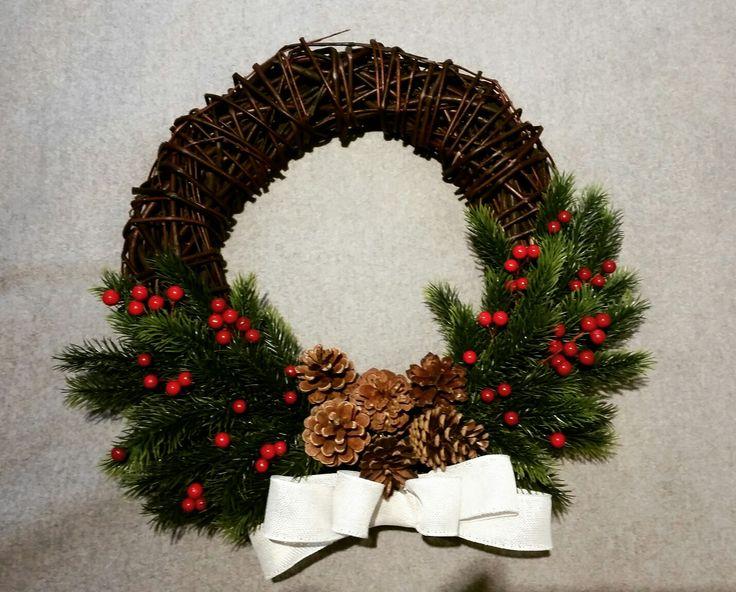 #wreath #cudne_wianki  #x-mas #handmade #christmas