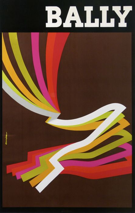 Jacques Auriac, bally chaussures hommes 1976