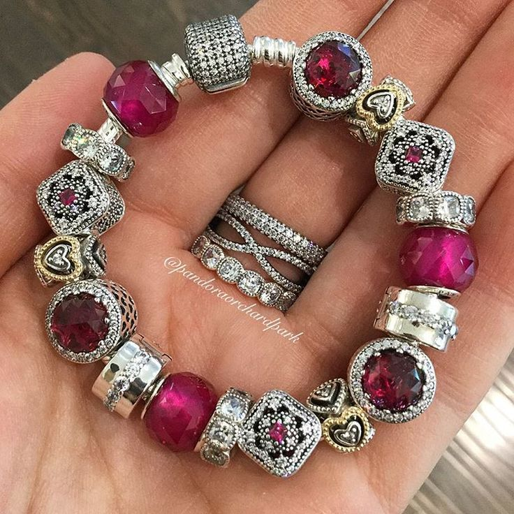 Bracelet With Charms: Pin By Bonnie Hunter On Pandora