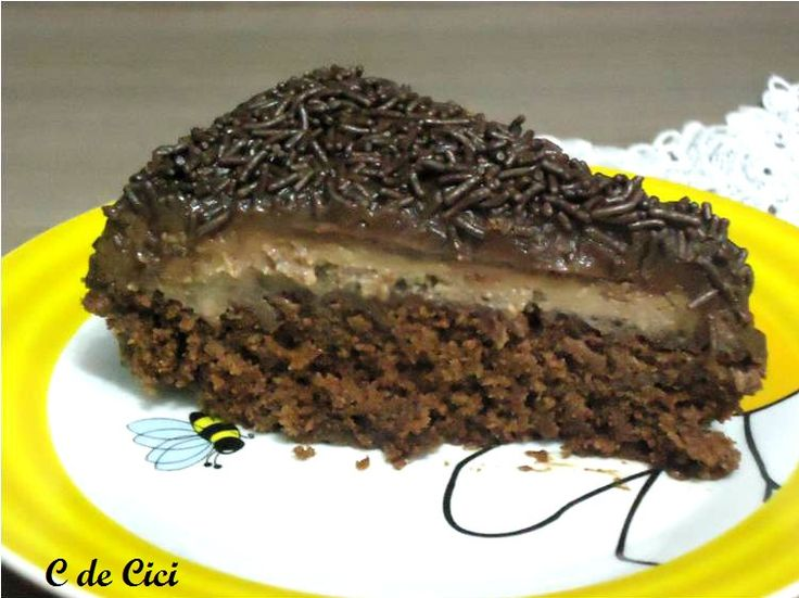 Já faz um tempo que babei com este bolo, assistindo ...