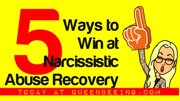 Don't Go It Alone! 5 Ways to Win at Narcissistic Abuse Recovery  http://queenbeeing.com/dont-go-alone-5-ways-win-narcissistic-abuse-recovery/
