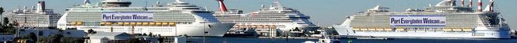 Port Everglades Webcam - A Fort Lauderdale Cruise Ship Web Cam