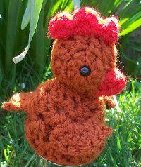 Amigurumi Chicken Free Pattern : 17 Best images about crochet birds on Pinterest Free ...